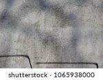 old white plaster wall closeup. | Shutterstock . vector #1065938000