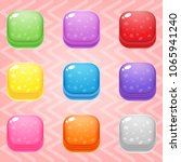 sweet candy match3 square block ...