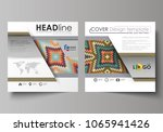 business templates for square...   Shutterstock .eps vector #1065941426
