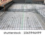 rebar work construction | Shutterstock . vector #1065946499