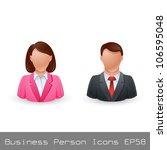 vector illustration business... | Shutterstock .eps vector #106595048