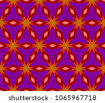 beautiful geometric ornament.... | Shutterstock .eps vector #1065967718
