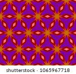 beautiful geometric ornament.... | Shutterstock .eps vector #1065967718