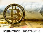 crypto currency  blockchain  ... | Shutterstock . vector #1065988310