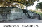 Small photo of Mrs. Macquarie's Chair, Mrs. Macquarie's Point in The Domain, Sydney, Australia