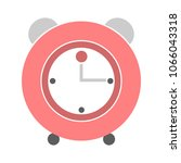 clock icon  vector alarm sign   ... | Shutterstock .eps vector #1066043318