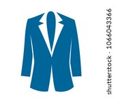 vector jacket icon  woman... | Shutterstock .eps vector #1066043366