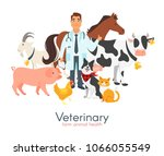 vector cartoon style... | Shutterstock .eps vector #1066055549