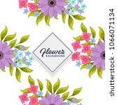 floral seamless pattern | Shutterstock .eps vector #1066071134