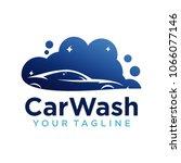 car wash logo company design... | Shutterstock .eps vector #1066077146