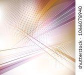 crisscrossed technology... | Shutterstock .eps vector #1066078940