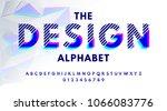 stylish modern abstract... | Shutterstock .eps vector #1066083776