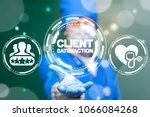 physician offers client... | Shutterstock . vector #1066084268