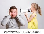 Child Screaming With Megaphone...