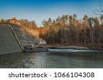 delta dam state in the city of... | Shutterstock . vector #1066104308