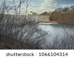 delta dam state in the city of... | Shutterstock . vector #1066104314