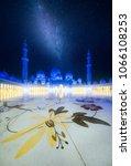 sheikh zayed grand mosque in...   Shutterstock . vector #1066108253