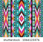 Tribal Seamless Colorful...