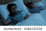 the young woman is disturbed... | Shutterstock . vector #1066132106