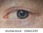 Detail Of A Woman's Eye On An...