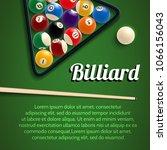 Постер Бильярд спортивные игры 3D
