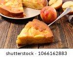 apple pie slice | Shutterstock . vector #1066162883