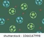 hand drawn doodle seamless... | Shutterstock .eps vector #1066167998
