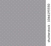 trendy dot  pink on gray... | Shutterstock .eps vector #1066195550