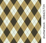 brown tartan | Shutterstock .eps vector #106621724