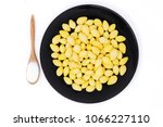 """""""ginkgo"""" with sugar or syrup....   Shutterstock . vector #1066227110"""