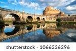 castel sant angelo or mausoleum ... | Shutterstock . vector #1066236296
