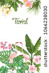 template of poster  banner ... | Shutterstock .eps vector #1066238030