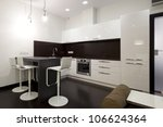 interior of modern kitchen | Shutterstock . vector #106624364