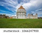 chapel of st john the baptist... | Shutterstock . vector #1066247900