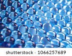 Water Blue Gel Balls With Boke...