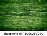 aged green wood close up | Shutterstock . vector #1066259030