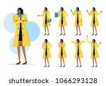 business woman set.  black... | Shutterstock .eps vector #1066293128