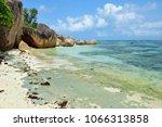 granite rocky beaches on... | Shutterstock . vector #1066313858