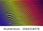 illusion of stripes  background ... | Shutterstock .eps vector #1066318478