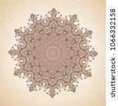 vintage vector pattern. hand... | Shutterstock .eps vector #1066332158