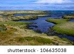 icelandic coastline in may  ...
