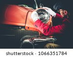 collectible car appraisal by...   Shutterstock . vector #1066351784