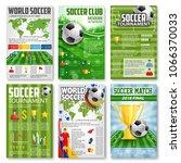 soccer or football tournament... | Shutterstock .eps vector #1066370033