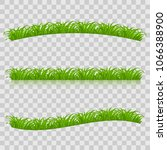 raster version. set of green... | Shutterstock . vector #1066388900