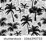 beautiful botanical vector... | Shutterstock .eps vector #1066390733