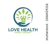 family health service logo   Shutterstock .eps vector #1066429226