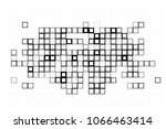 black and white abstract vector ... | Shutterstock .eps vector #1066463414
