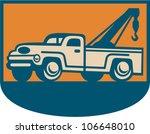 retro illustration of a vintage ... | Shutterstock .eps vector #106648010