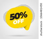 sale banner template design ... | Shutterstock .eps vector #1066481450