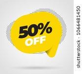 sale banner template design ... | Shutterstock .eps vector #1066481450